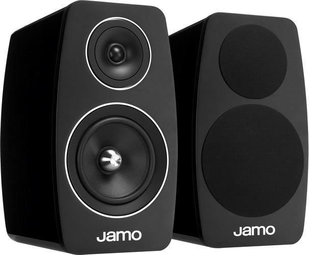 Jamo C 103 - акустическая система полочная (High Gloss Black)Полочная акустика<br>Акустическая система полочная<br>