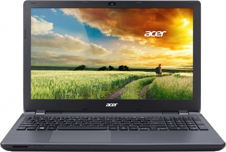 Ноутбук Acer Aspire E5-571G-52Q4 15.6'', Intel Core i5-5200U 2.2GHz, 4Gb, 500Gb HDD (Grey)