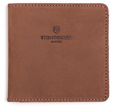 Stoneguard 311 - кожаный кошелек (Rust)