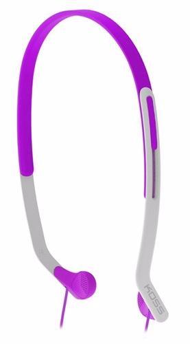 Koss KPH14 (KPH14V) - внутриканальные спортивные наушники (Violet)