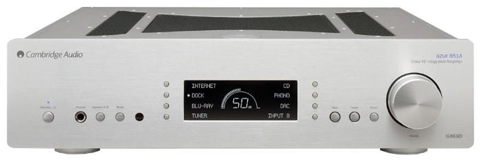 Cambridge Audio Azur 851A - интегральный усилитель (Silver)