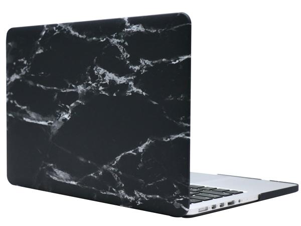 Чехол-накладка пластиковая Novelty Electronics для MacBook 12 (Black Marble)