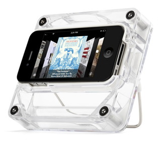 Griffin AirCurve Play (GС10038) - док-станция с акустическим усилителем для iPhone 4/4S