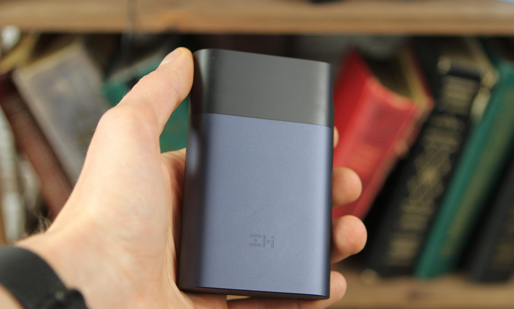 Внешний аккумулятор Xiaomi ZMi 10000 mAh (MF855) с 4G-модемом (Black)