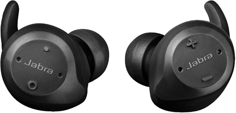 Jabra Elite Sport - беспроводная гарнитура (Black) чехол переноска sport elite zs 7030 70x30cm black