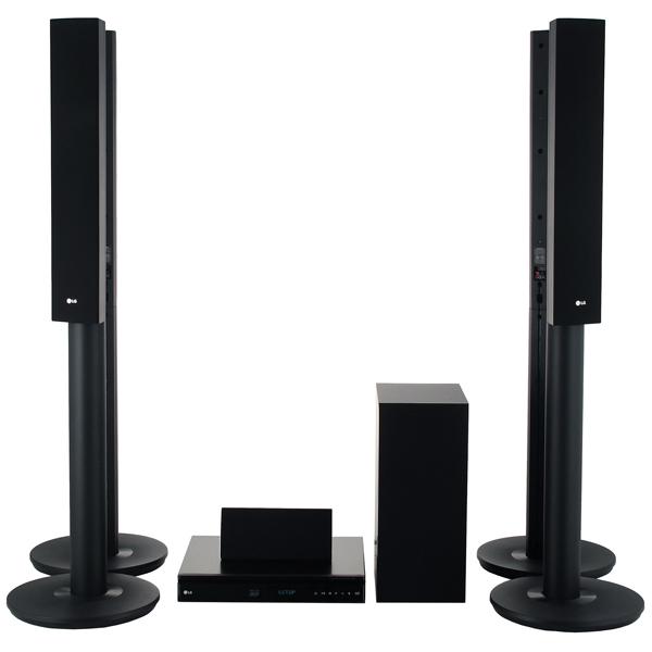 LG LHB655 - Blu-Ray 3D домашний кинотеатр (Black)