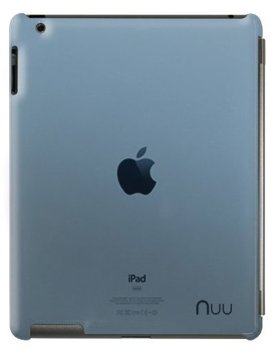 NUU BaseCase - чехол для iPad 2/iPad 3/iPad 4 (Blu navy)