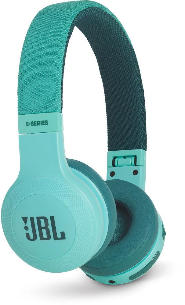 JBL E45BT - накладные Bluetooth-наушники с микрофоном (Teal)