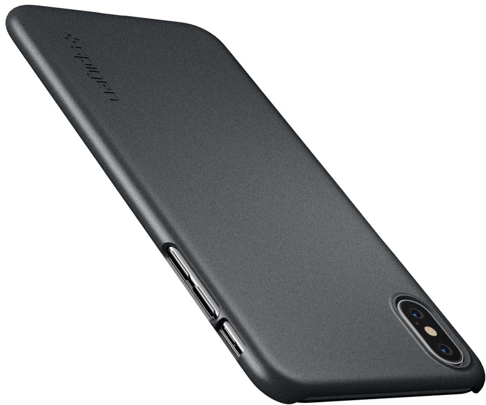 Чехол Spigen Thin Fit (065CS24825) для iPhone XS Max (Gray)