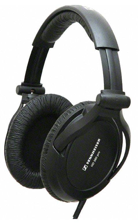 все цены на  Sennheiser HD-380 Pro - полноразмерные наушники (Black)  онлайн