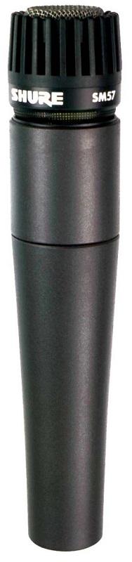 Shure SM57-LCE (16907) - динамический кардиоидный инструментальный микрофон (Black)