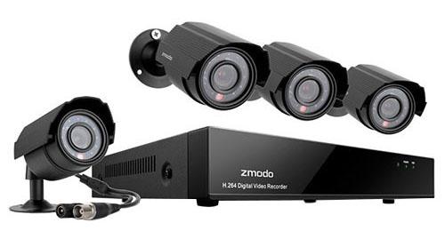 ZmodoКомплекты видеонаблюдения<br>Комплекс видеонаблюдения<br>