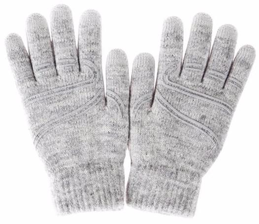 Moshi Digits M/S (99MO065011) - перчатки для сенсорных устройств (Light Grey)