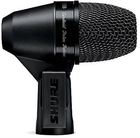 Shure PGA56-XLR (A058940) - кардиоидный микрофон для ударных и других музыкальных инструментов c держателем A50D (Black)