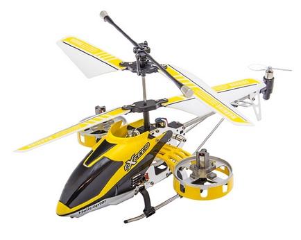 I-Helicopter HC-777-167 - радиоуправляемый вертолет (Yellow)