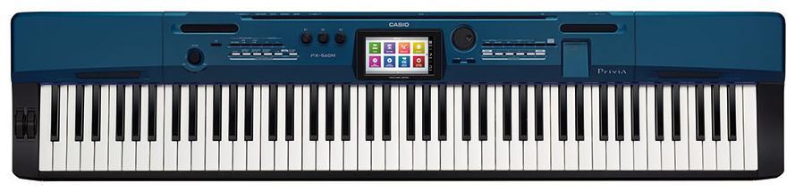 Casio Privia PX-560M (A061601) - цифровое пианино (Blue/Black)Музыкальные инструменты<br>Cинтезатор<br>