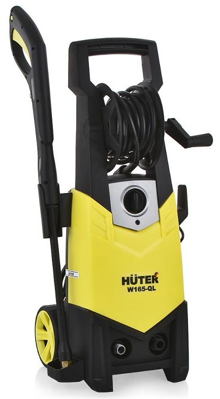 Huter W165-QL (70/8/12) - мойка высокого давления (Black/Yellow)Мойки высокого давления<br>Мойка высокого давления<br>