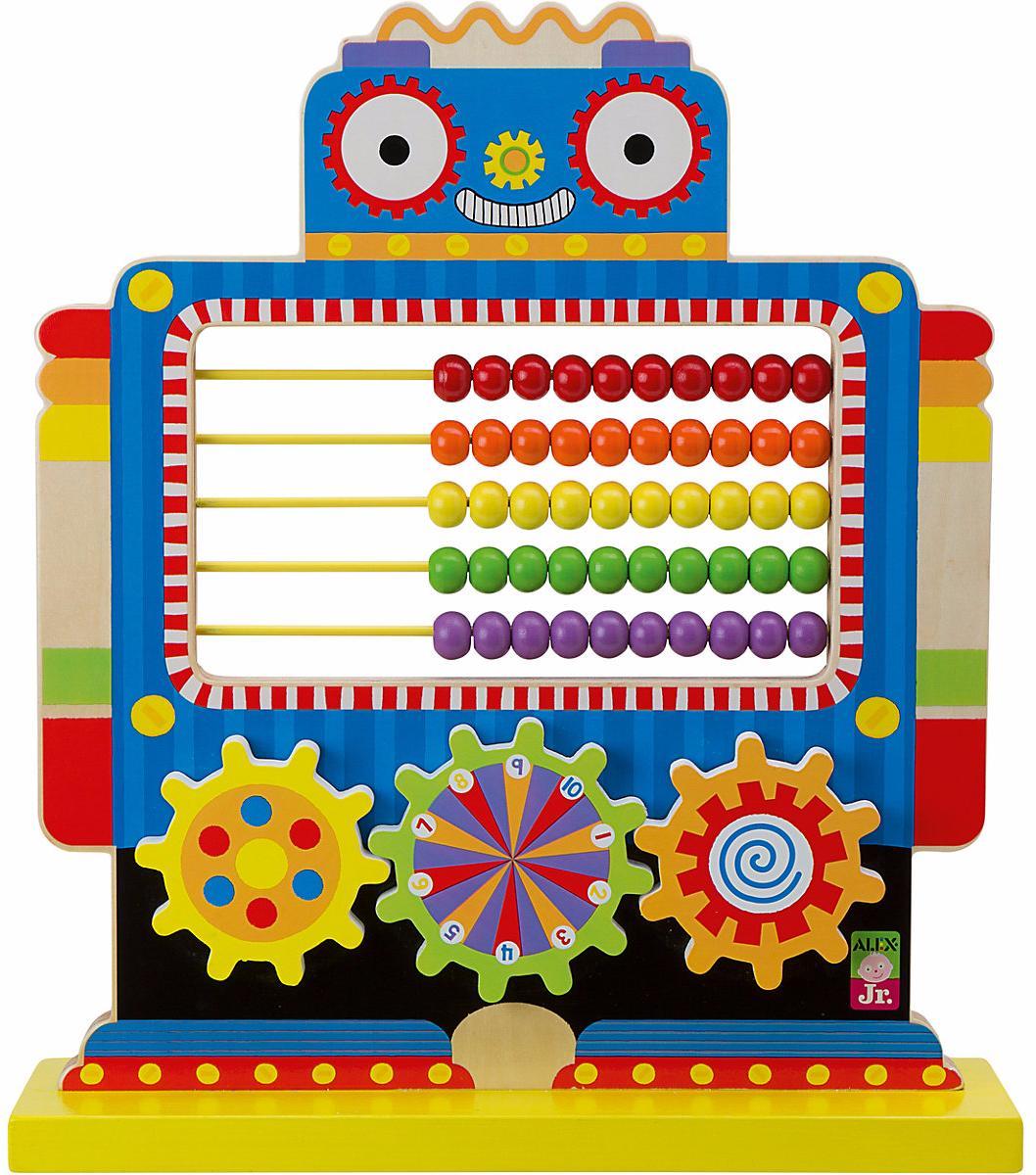 Alex Toys Робот (1999R) - развивающая игрушка (Multicolor)Развивающие игрушки<br>Развивающая игрушка<br>