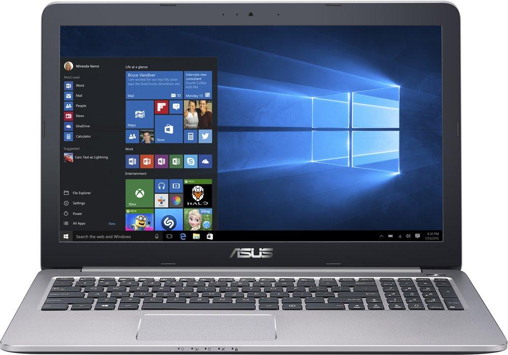 Ноутбук Asus K501UX-DM201T BTS 15.6'', Intel Core i5 6200U 2.3Ghz, 8Gb, 1Tb HDD (90NB0A62-M03360) ноутбук asus k751sj ty020d 90nb07s1 m00320