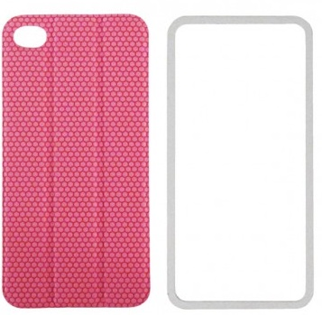 TidyTilt - чехол для iPhone 4/4S (Pink) чехол для iphone 4 iphone 4s bb mobile медведь