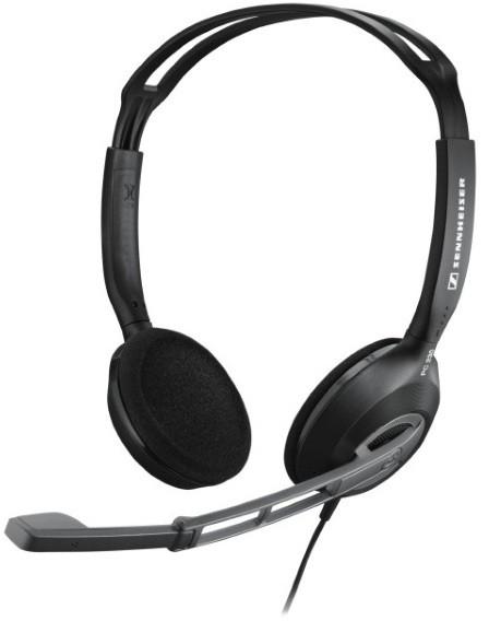Sennheiser PC 230 (504119) - проводная стереогарнитура (Black)