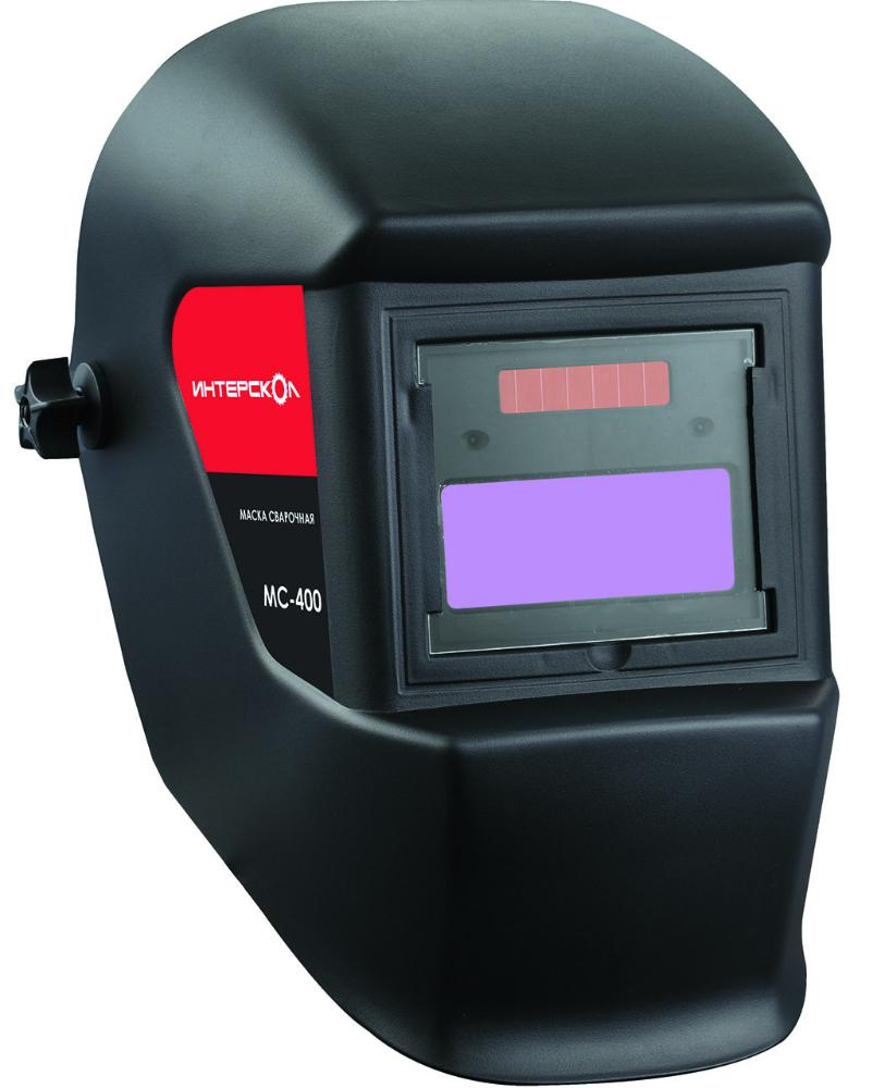 Интерскол МС-400 (275.1.0.40) - сварочная маска (Black) интерскол тпг 15