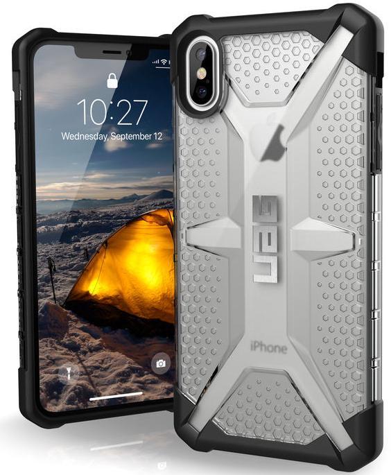 Чехол Urban Armor Gear Plasma для iPhone Xs Max (Ice)