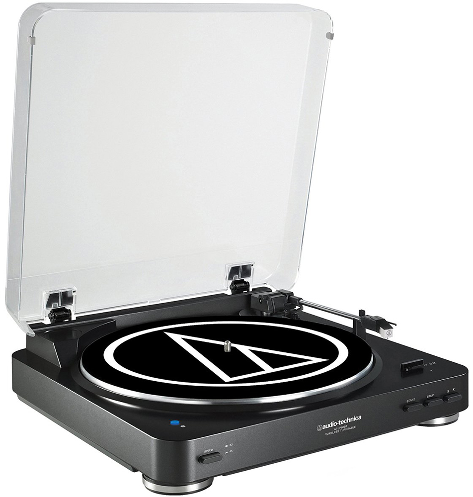 Audio-Technica AT-LP60-BT - проигрыватель виниловых пластинок (Black)Проигрыватели виниловых дисков<br>Проигрыватель виниловых пластинок<br>