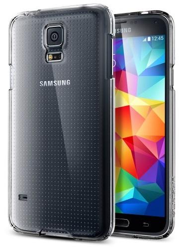 SGP Ultra Fit Case (SGP10730) - чехол для Samsung Galaxy S5 (Crystal Shell)