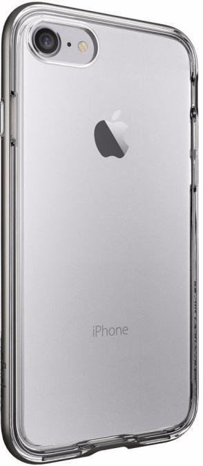 Spigen Neo Hybrid Crystal (042CS20522) - чехол для iPhone 7 (Gunmetal)Чехлы-накладки для смартфонов<br>Чехол<br>