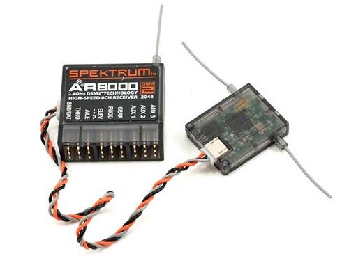 8-Channel ReceiverПриемники для коптеров<br>8-канальный приемник для авиамоделей<br>