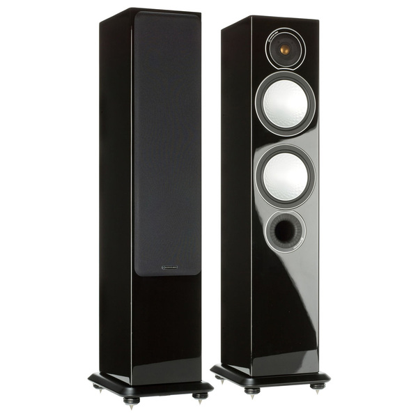 Monitor Audio Silver 6 (2000000017709) - напольная акустическая система (Black Gloss)