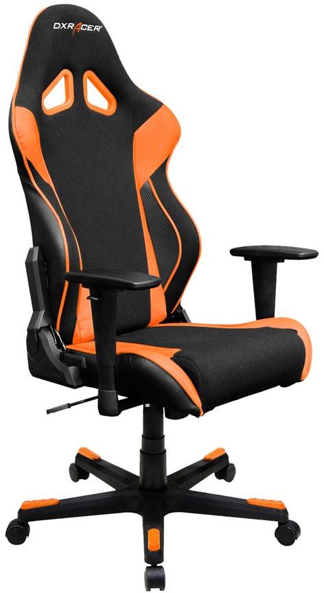 DXRacer OH/RW106/NO - компьютерное кресло (Black/Orange)