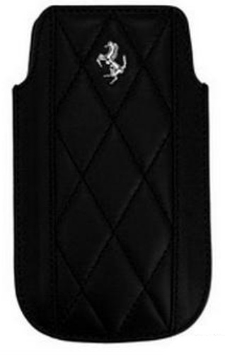 Ferrari Sleeve (FEMAIPBL) - чехол для iPhone 4\4S (Maranello Black) от iCover