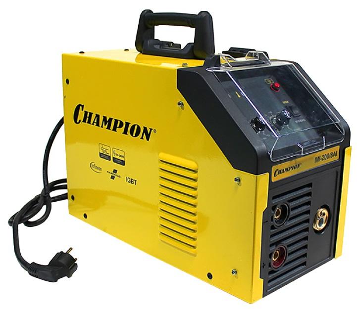 Champion IW-200/8 AI - инвертор сварочный (Yellow/Black)