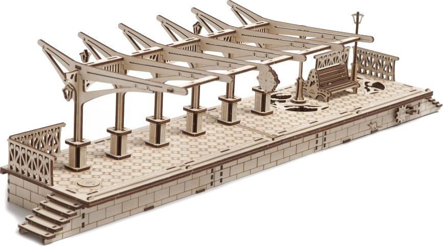 UGears Railway Platform (70013) - 3D-пазл