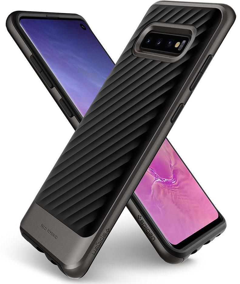 Чехол Spigen Neo Hybrid (605CS25809) для Samsung Galaxy S10 (Gunmetal)