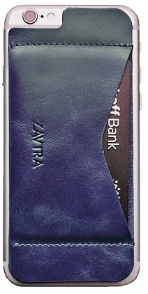 Кошелек-накладка Zavtra для iPhone 6/6S (Blue)