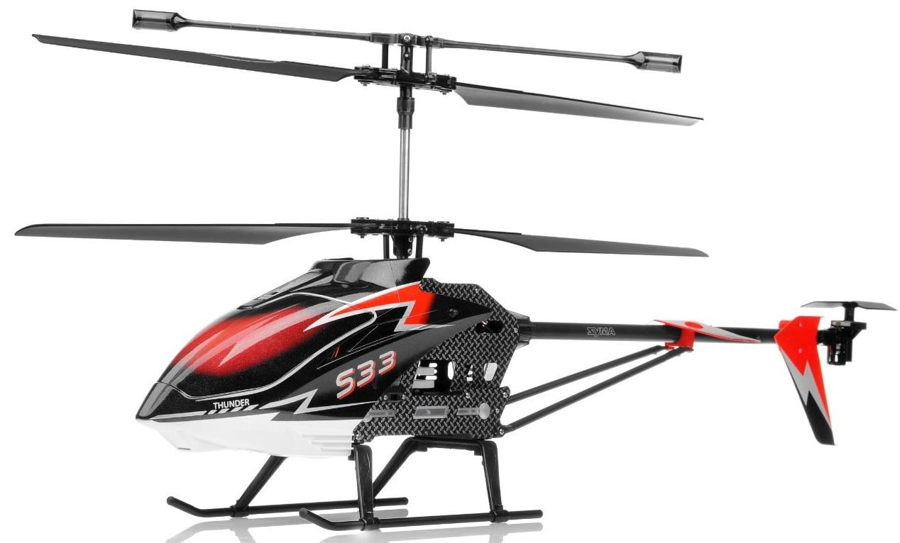 Syma S33 Helicopter 2.4 Ghz - радиоуправляемый вертолет (Red)