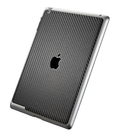 SGP Premium Protective Skin guard (SGP08858) - защитная пленка для iPad 2 / iPad 3 (Carbon Black)