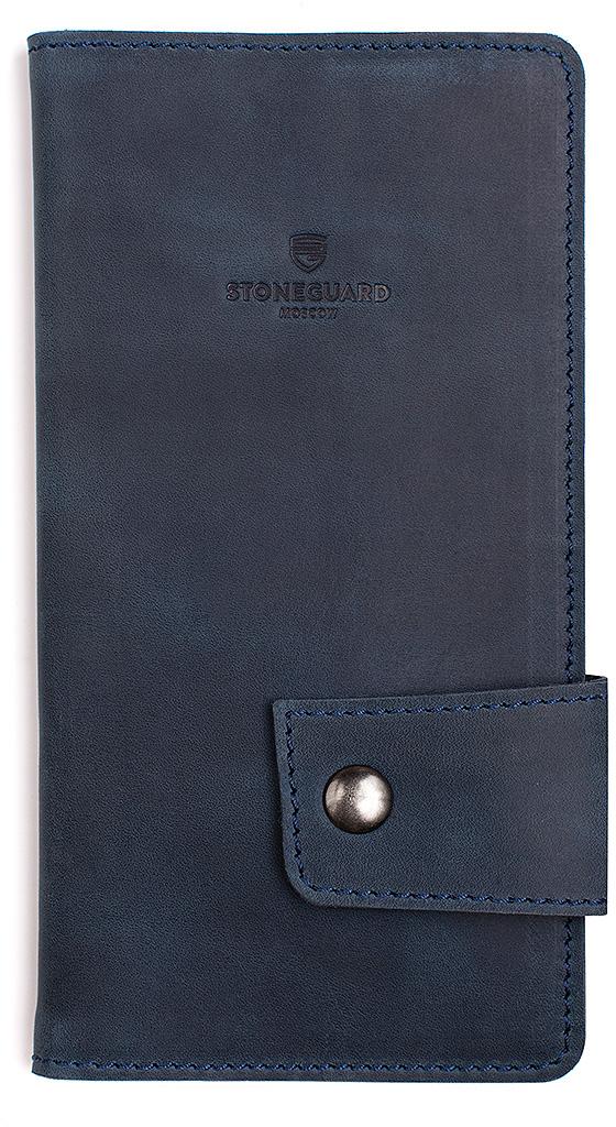 Stoneguard 321 - кожаный кошелек (Ocean)