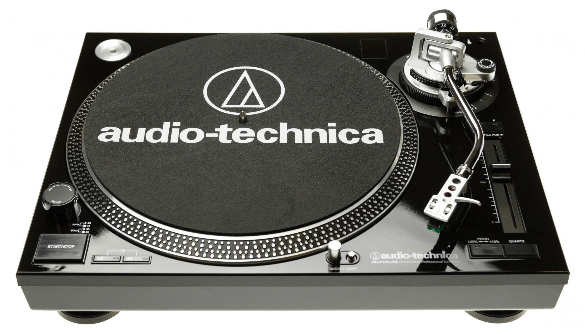Audio-Technica AT-LP120USBC - проигрыватель виниловых пластинок (Black)