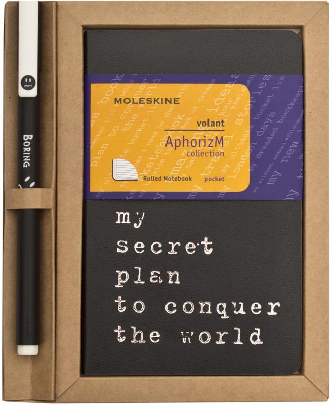 Moleskine Volant My golden rules for success SETQP711SP