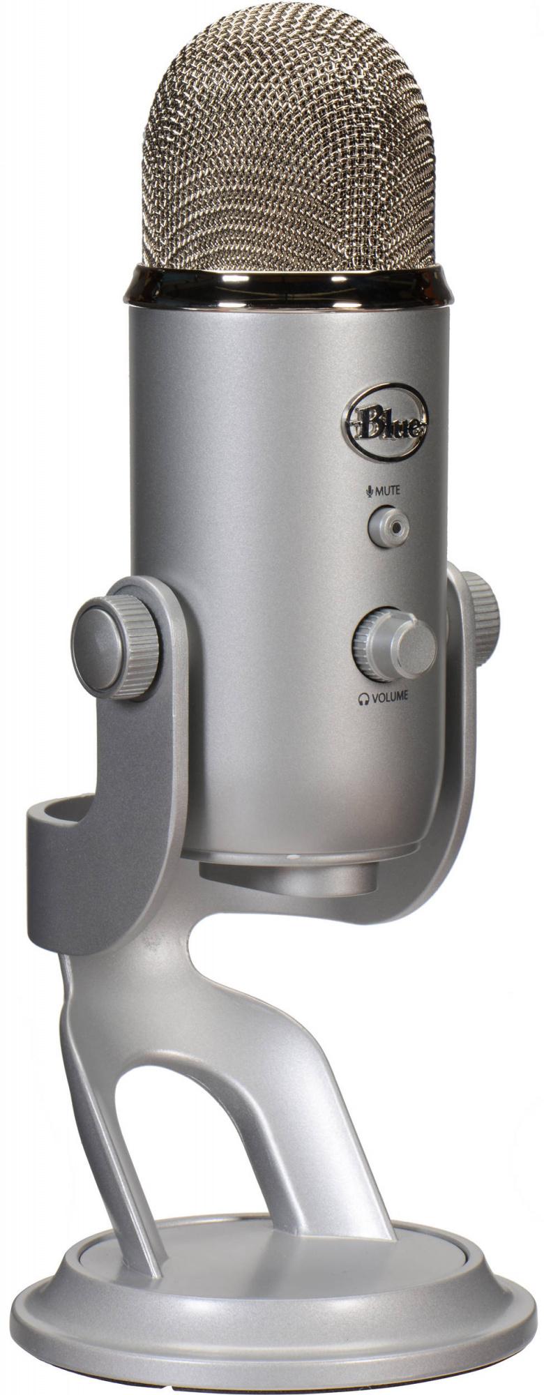 Blue Microphones Yeti Studio - конденсаторный микрофон (Silver)