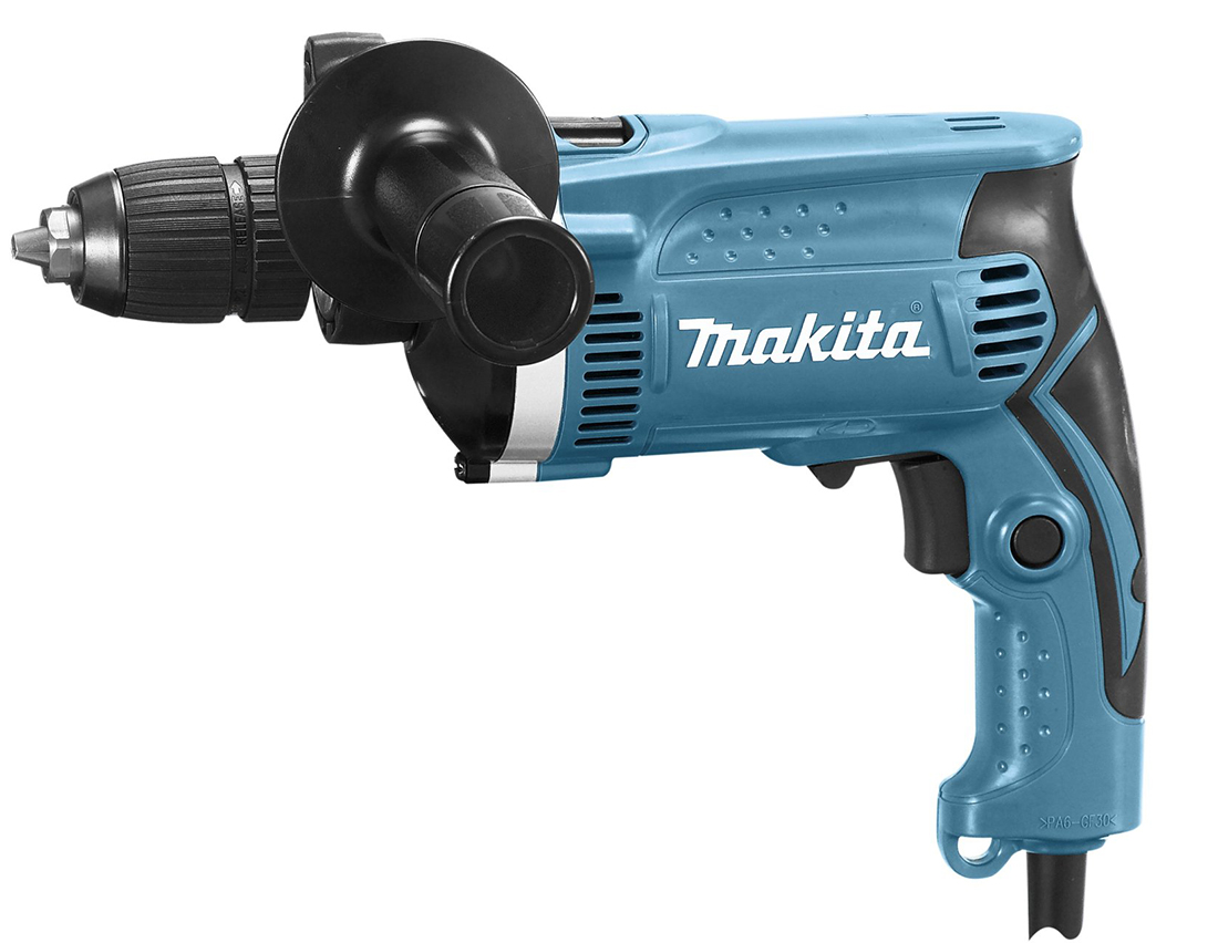 Makita HP1631 - ударная дрель (Blue)  дрель электрическая makita hp2050 ударная