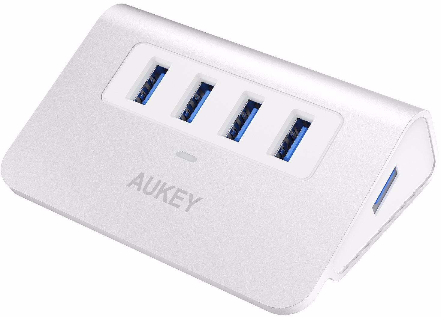 aukey Aukey CB-H5 - USB-концентратор (White)