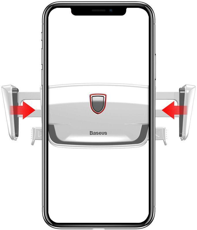 Автомобильный держатель Baseus Robot Air Vent Car Mount SUJXS-02 (White)