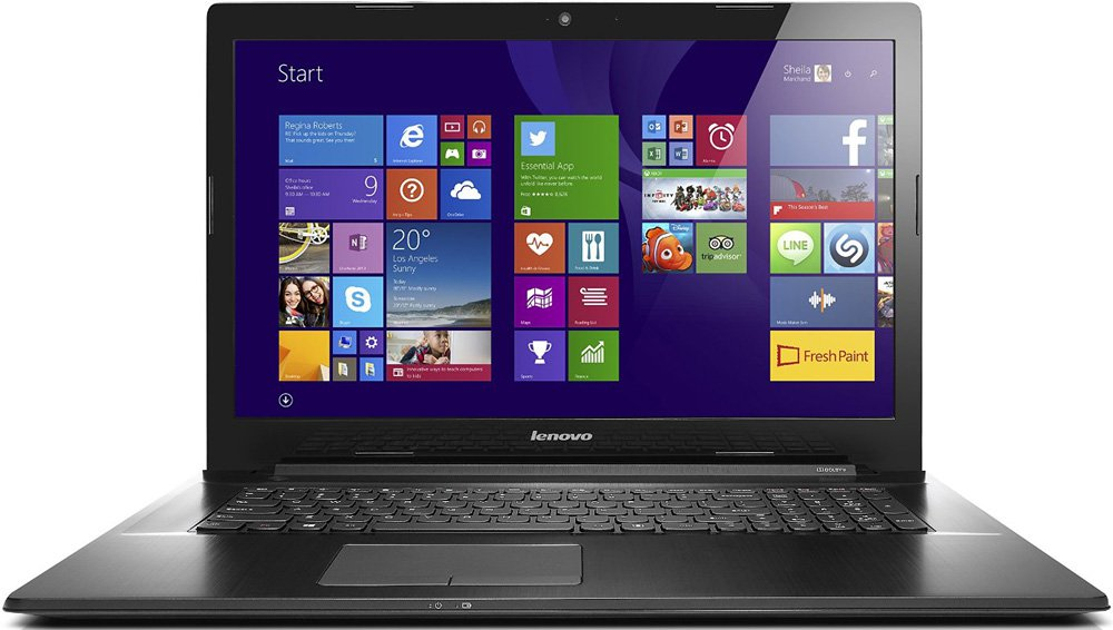 "Ноутбук Lenovo G70-35 17.3"" AMD A6 6310 2.4Ghz, 4Gb, 1Tb HDD (80Q5000TRK)"