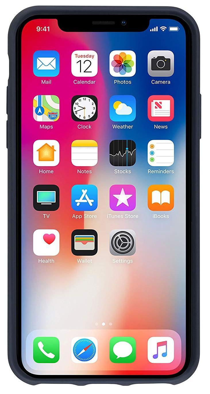 Чехол Native Union Clic Canvas (CCAV-NAVY-NP18L) для iPhone Xs Max (Marine)