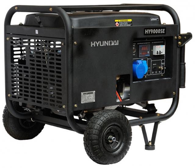 Hyundai HY 9000SE - генератор бензиновый